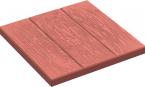 Тротуарная плитка Три доски